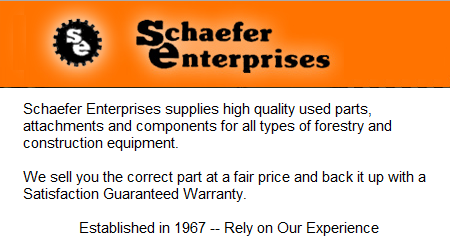 Schaefer Enterprises of Wolf Lake Inc. - Wolf Lake, IL