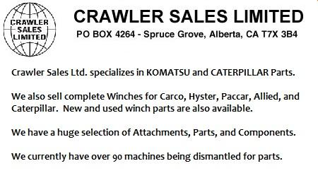 Crawler Sales LTD. - Spruce Grove, AB