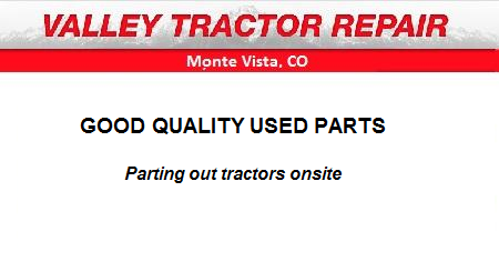 Valley Tractor Repair - Monte Vista, CO