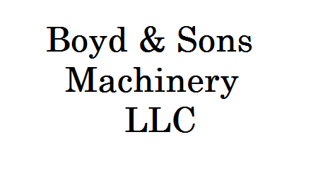 Boyd & Sons Machinery, LLC - Washington, IN