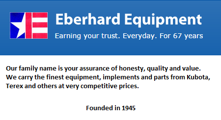 Eberhard Equipment - Santa Ana, CA