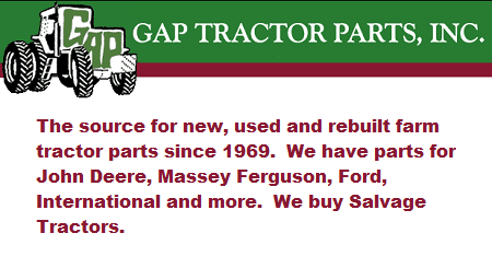 Gap Tractor Parts, Inc. - Clifton, TX