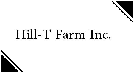 Hill-T Farm Inc. - New Madison, OH