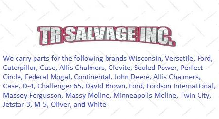 TR Salvage - Thief River Falls, MN