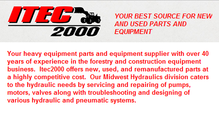 Itec 2000 Equipment Salvage Inc. - Rosslyn, ON