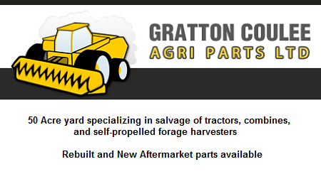 Gratton Coulee Agri Parts Ltd. - Irma, AB